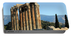 Temple Of Zeus Portable Battery Charger