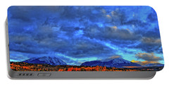 Portable Battery Charger featuring the photograph Ten Mile Of Fall Colors by Scott Mahon