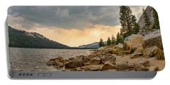 Tenaya Lake - Yosemite Portable Battery Charger