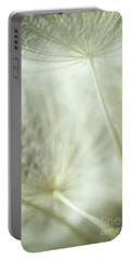 Tender Dandelion Portable Battery Charger by Iris Greenwell