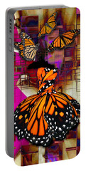 Portable Battery Charger featuring the mixed media Tenderly by Marvin Blaine