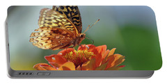 Portable Battery Charger featuring the photograph Tenderness by Glenn Gordon