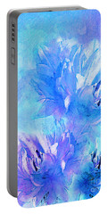 Portable Battery Charger featuring the digital art Tenderness by Klara Acel