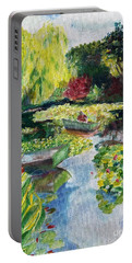 Tending The Pond Portable Battery Charger
