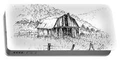 Tennessee Hills With Barn Portable Battery Charger