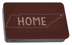 Portable Battery Charger featuring the digital art Tennessee Home by Heather Applegate
