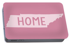 Portable Battery Charger featuring the photograph Tennessee Home White by Heather Applegate