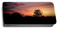 Portable Battery Charger featuring the photograph Tennessee Sunset 305 by Ericamaxine Price