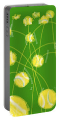 Tennis Balls At Me Portable Battery Charger