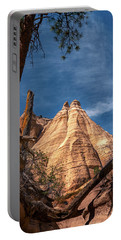 Tent Rock And Ponderosa Pine Portable Battery Charger