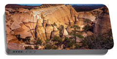 Tent Rocks From Above Portable Battery Charger