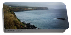Terceira Coastline Portable Battery Charger by Kelly Hazel