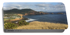 Terceira Coastline, The Azores, Portugal Portable Battery Charger by Kelly Hazel