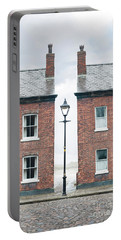 Terraced Houses Portable Battery Charger by Lee Avison
