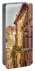 Portable Battery Charger featuring the photograph Terracotta - Rome Italy Travel Photography by Melanie Alexandra Price