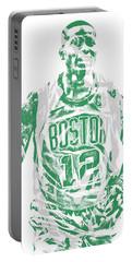Terry Rozier Boston Celtics Pixel Art 11 Portable Battery Charger