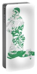 Terry Rozier Boston Celtics Pixel Art 12 Portable Battery Charger
