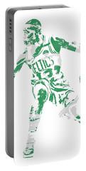 Terry Rozier Boston Celtics Pixel Art 13 Portable Battery Charger