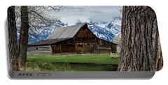 Teton Barn #1 Portable Battery Charger