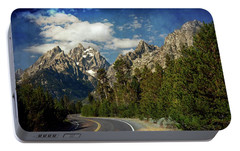 Portable Battery Charger featuring the photograph Teton Grande 11 by Marty Koch