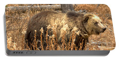 Teton Grizzly In The Brush Portable Battery Charger