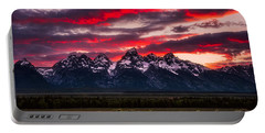 Teton Sunset Portable Battery Charger by Darren White