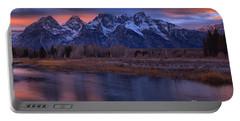 Teton Sunset Fall Pastels Portable Battery Charger