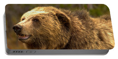 Teton Toothy Grizzly Smile Closeup Portable Battery Charger
