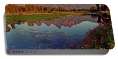 Teton Wildflowers Portable Battery Charger by Scott Mahon