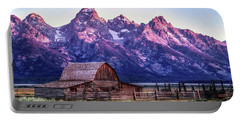 Tetons And Barn Portable Battery Charger