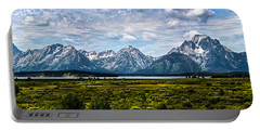 Tetons - Panorama Portable Battery Charger