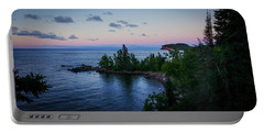 Tettegouche Sunset Portable Battery Charger
