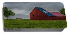Texas Barn Panorama Portable Battery Charger
