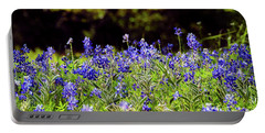 Texas Bluebonnets IIi Portable Battery Charger