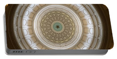 Portable Battery Charger featuring the photograph Texas Capital by Robert Meanor