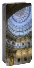 Texas Capitol Dome Interior Portable Battery Charger