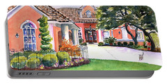 Texas Home Spanish Tuscan Architecture  Portable Battery Charger