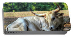Texas Longhorn Gentle Giant Portable Battery Charger