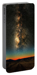 Texas Milky Way Portable Battery Charger by Larry Landolfi