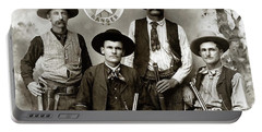 Texas Rangers C. 1890 Portable Battery Charger