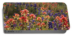 Texas Roadside Wildflowers Portable Battery Charger