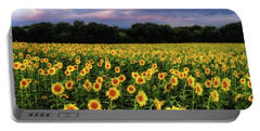 Texas Sunflowers Portable Battery Charger