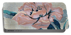 Textured Floral No.2 Portable Battery Charger