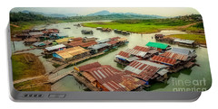 Thai Floating Village Portable Battery Charger