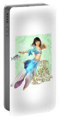 Thai Mermaid Portable Battery Charger by Francesa Miller