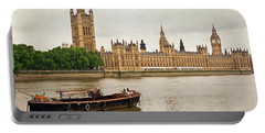 Portable Battery Charger featuring the photograph Thames by Keith Armstrong