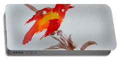 Thank You Bird Portable Battery Charger by Beverley Harper Tinsley