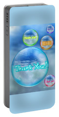 Thank You Bubbles Portable Battery Charger