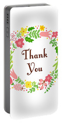 Thank You Card Portable Battery Charger