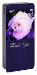Thank You  Portable Battery Charger by Mary Ellen Frazee